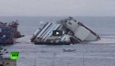 El reflote del Costa Concordia