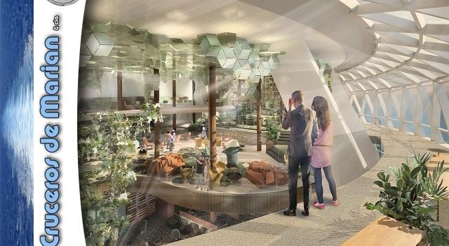 Bienvenidos al Edén- Celebrity Cruises reimagina el Jardín del Edén