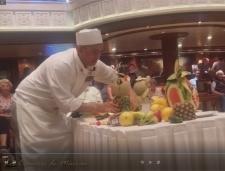 Videos varios-Creacion de figuras con frutas-Buho