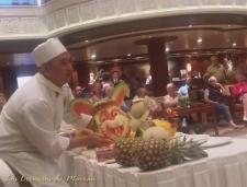 Videos varios-Creacion de figuras con frutas-Conejo
