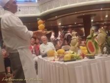 Videos varios-Creacion de figuras con frutas-Pajaro