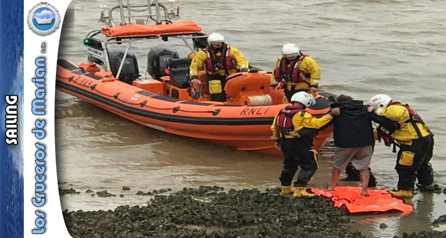 Man who had never sailed before runs aground just six miles into 168-mile trip