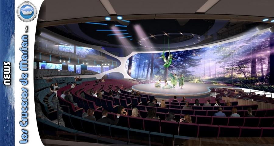 Celebrity unveils theater aboard Celebrity Edge