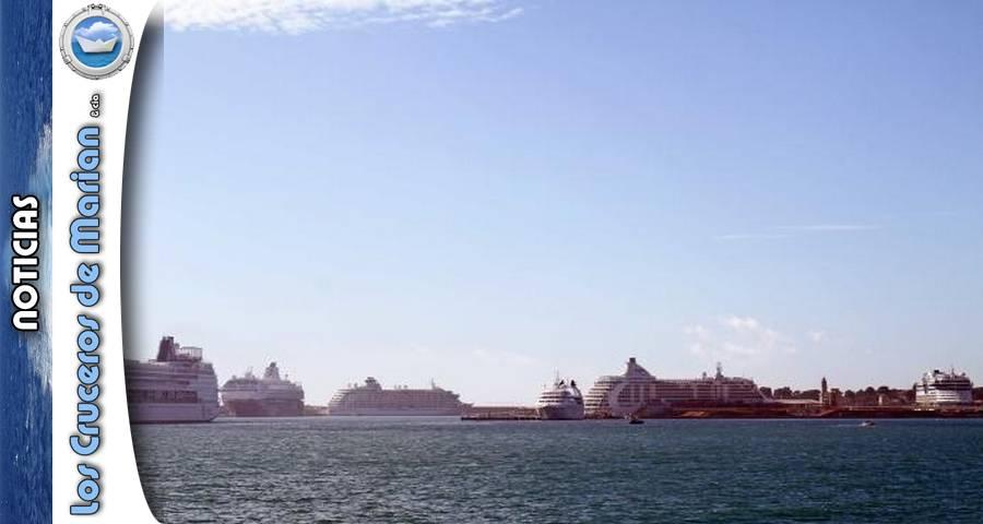 Seis cruceros coinciden en Palma en noviembre