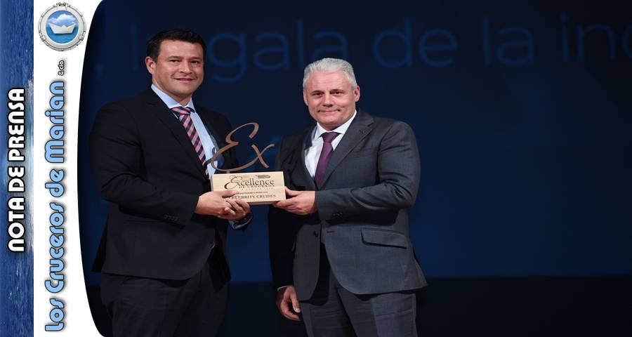 """Celebrity Cruises recibe el premio """"Mejor gastronomía a bordo"""" en los Premios Excellence de Cruceros"""
