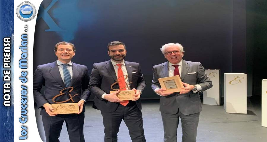 Costa Cruceros reconocida por su labor sostenible en los premios Excellence